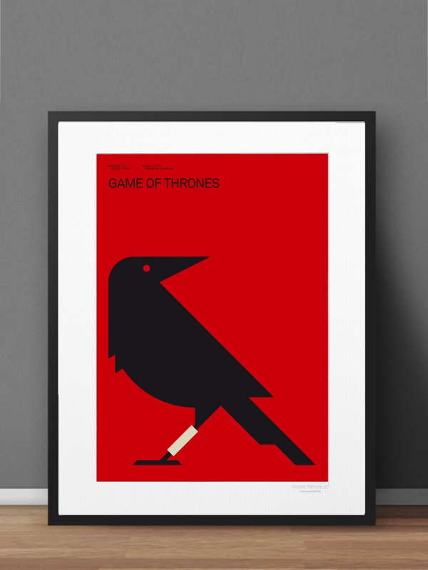 nagarey | Products - Modern Prints - Game of Thrones 40x50 cm with ...